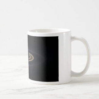 Saturn's rings coffee mug