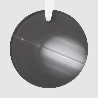 Saturn's Rings Edge-on