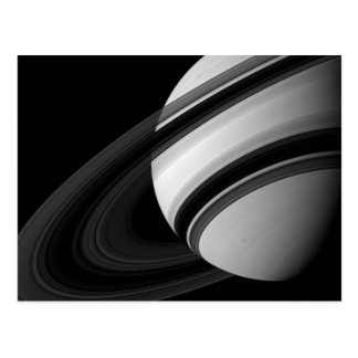 Saturn's Rings From The Dark Side Postcard