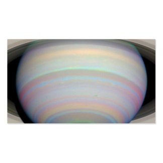 Saturn's Rings in Infrared Light Double-Sided Standard Business Cards (Pack Of 100)