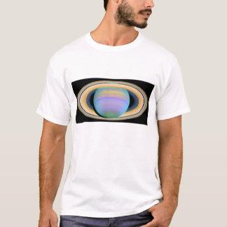 Saturn's Rings in Ultraviolet Light T-Shirt