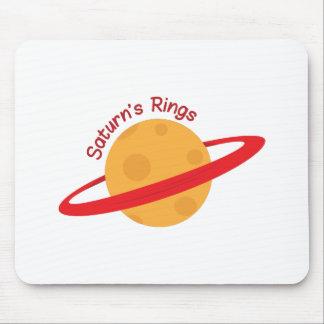 Saturns Rings Mousepads