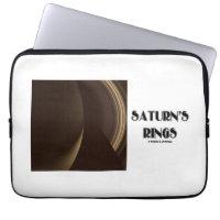 Saturn's Rings (Photo Of Saturn Rings) Laptop Sleeves