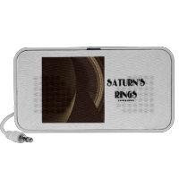 Saturn's Rings (Photo Of Saturn Rings) Travel Speaker