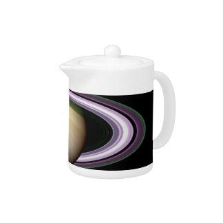 Saturn's Rings Teapot