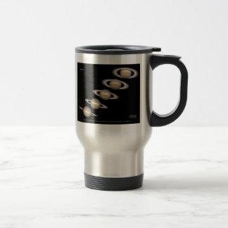 Saturn's Rings tilt 1996-2000 Astronomy Gifts Travel Mug