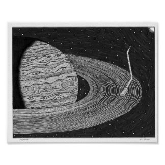 Saturntable Poster