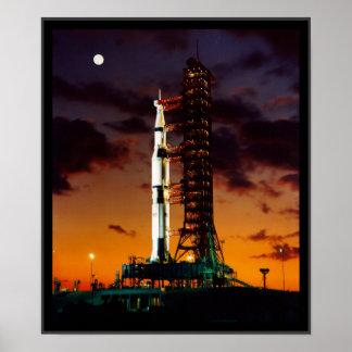 SaturnV Rocket Poster