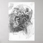 Satyr, after Michelangelo Print
