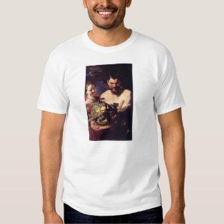 Satyr and Girl by Peter Paul Rubens Tee Shirts