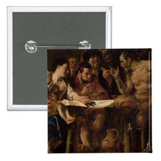 Satyr and Peasant, 1620 Pin
