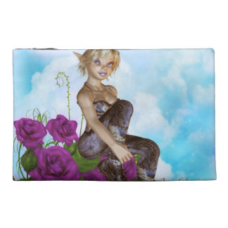 Satyr in a Garden Travel Accessory Bags