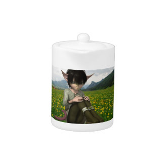 Satyr in Field Teapot