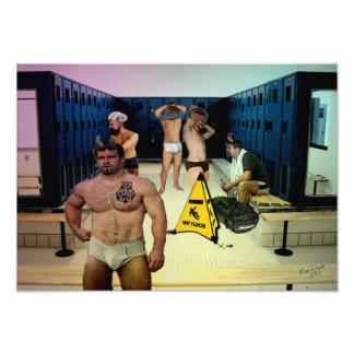 Satyr Locker Room Photo Print