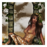 Satyr Resting Posters