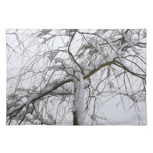 sauce nevado mantel individual