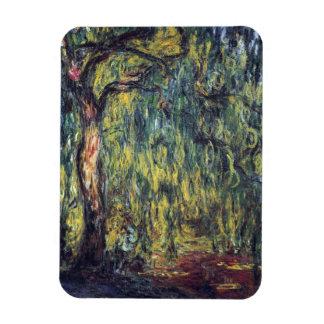Sauce que llora de Claude Monet, bella arte del Imán