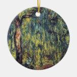Sauce que llora II de Monet, impresionismo del Ornamentos De Reyes Magos