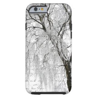 Sauce romántico del invierno funda de iPhone 6 tough