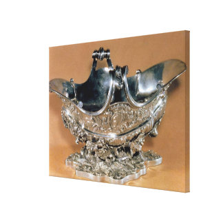 Sauceboat, Palissy Ware, c.1530 Canvas Print