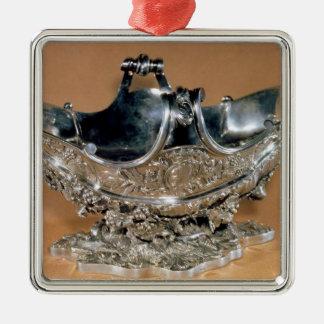 Sauceboat, Palissy Ware, c.1530 Metal Ornament