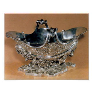 Sauceboat, Palissy Ware, c.1530 Poster
