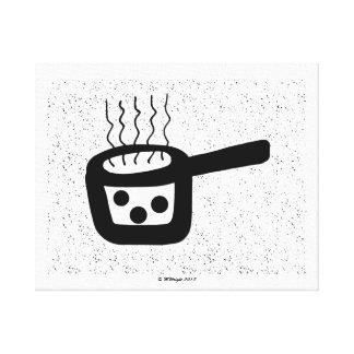 Saucepan Canvas Print