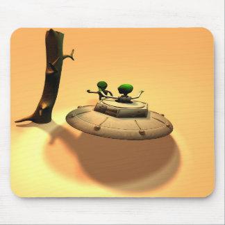 Saucer Buddies Mousepad
