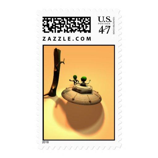 Saucer Buddies Postage
