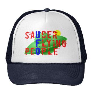 Saucer Flying People Trucker Hat