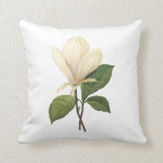 saucer magnolia(Magnolia soulangiana) by Redouté Pillow