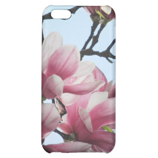 Saucer Magnolia Tulip Tree Flowers Photo Cover For iPhone 5C