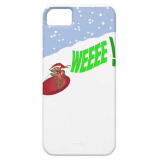 Saucer Sleding Cat iPhone 5 Cover