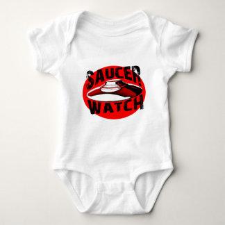 Saucer Watch Baby Bodysuit