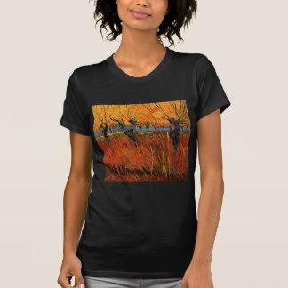 Sauces de Van Gogh en la puesta del sol, Camiseta