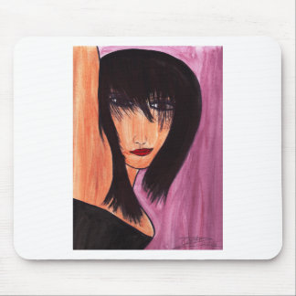 Saucy Brunette Mouse Pad