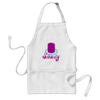 Saucy Cranberry Saying Adult Apron