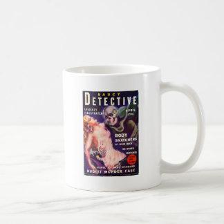 Saucy Detective Coffee Mug