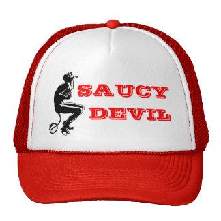 SAUCY DEVIL TRUCKER HAT