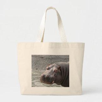 Saucy Hippo! Jumbo Tote Bag