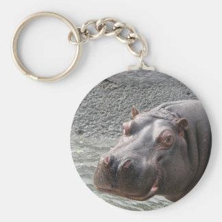 Saucy Hippo! Keychain
