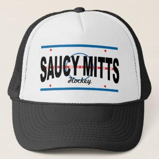 Saucy Mitts Hockey Center Ice Cap