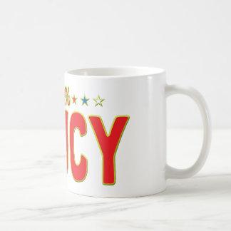 Saucy Star Tag Classic White Coffee Mug