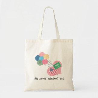 saudi-american tote bag with blog title