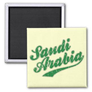 Saudi Arabia 2 Inch Square Magnet