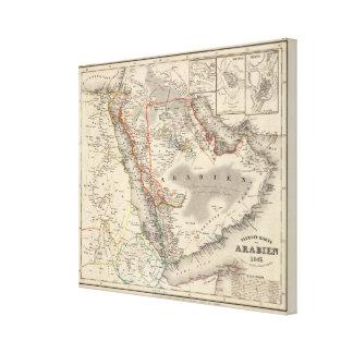 Saudi Arabia Stretched Canvas Prints