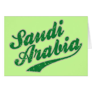 Saudi Arabia Card