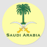 Saudi Arabia Circular Sticker*