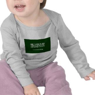 Saudi Arabia Civil Ensign Tee Shirt