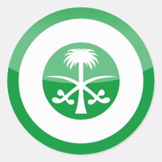 saudi_arabia classic round sticker